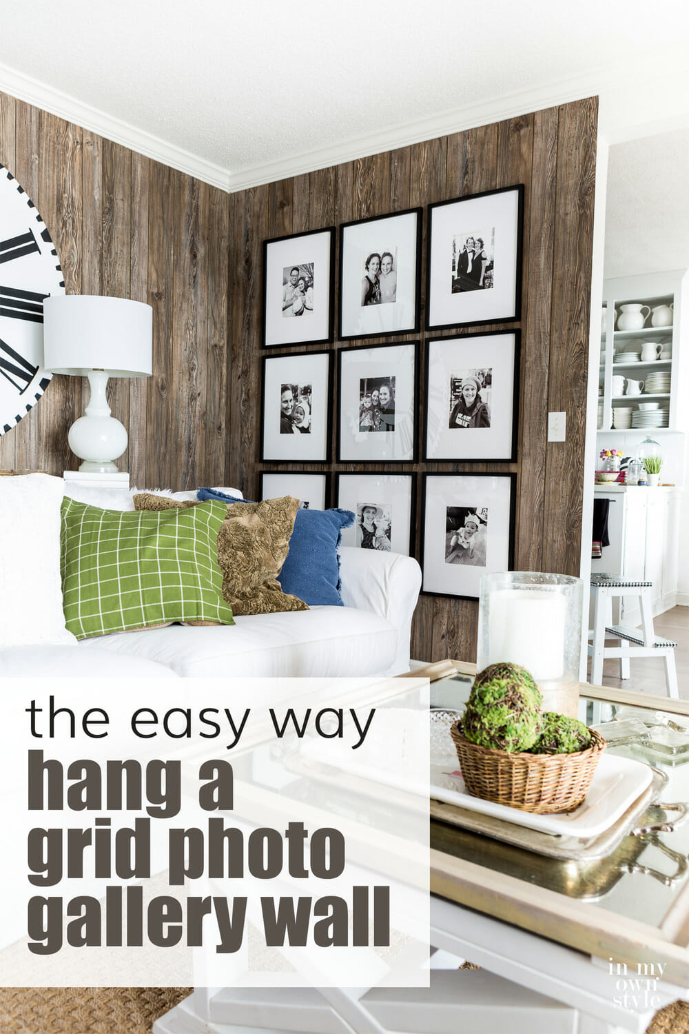 How To Easily Create a Grid Gallery Wall